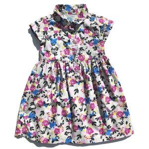 4 Baby GAP Modern Floral Dress